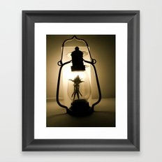 gotcha ! Framed Art Print