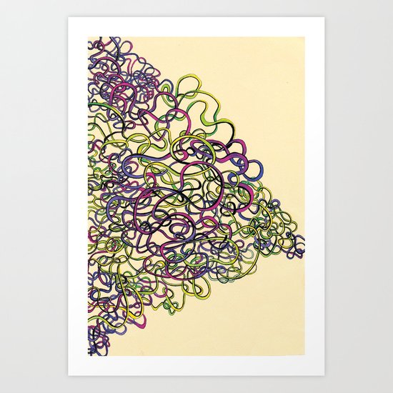 wire:d Art Print