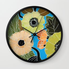 Botanic no.3 Wall Clock