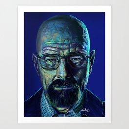 Walter White- Breaking Bad Art Print