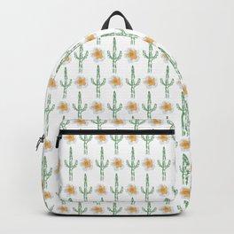 Saguaro Floral Pattern Backpack