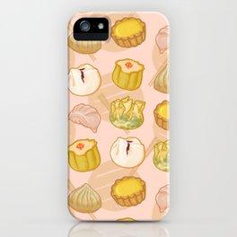 Dimsum everywhere! [peach] iPhone Case