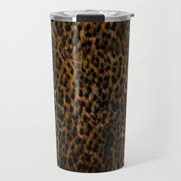 Cheetah Fur Texture Travel Mug