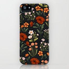 Wild Flowers ~ vol1. iPhone Case