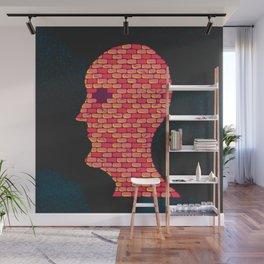 Brick Head Wall Mural