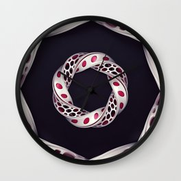 Pattern - Mobious Wall Clock