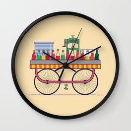 Gola Cart Wall Clock