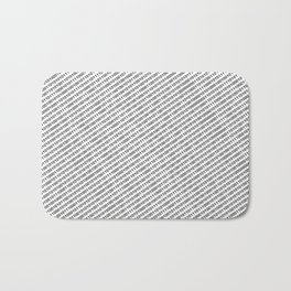 Binary Code - diagonal version Bath Mat