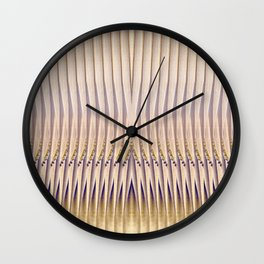 Palm Leaves Wall Clock