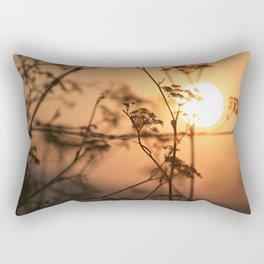 Sunrise at nigran Rectangular Pillow