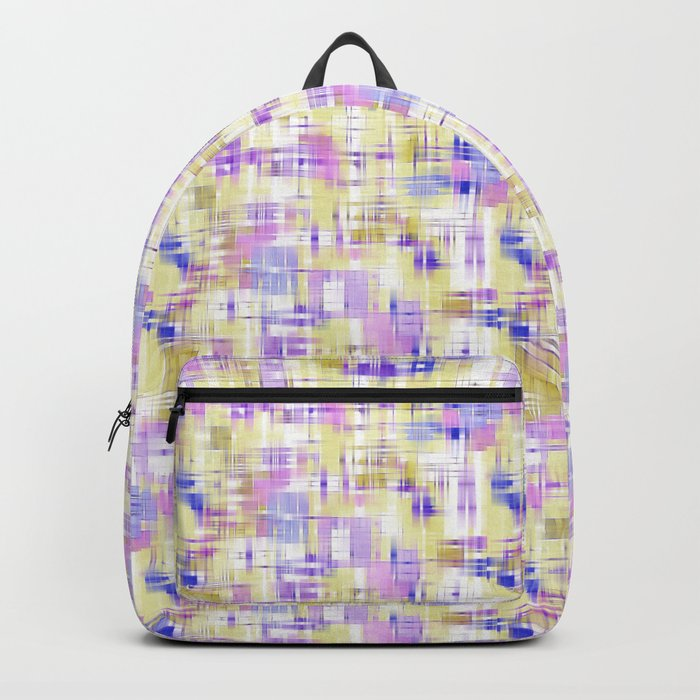 Abstract patterns. The art design. Backpack