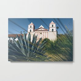 Old Mission, Santa Barbara Metal Print