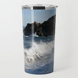 Glass Beach California #1 Travel Mug