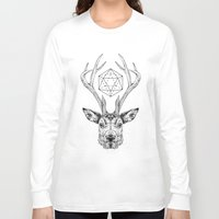stag Long Sleeve T-shirts featuring Stag by Andy Christofi