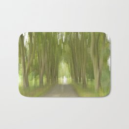 Abstract Trees Bath Mat
