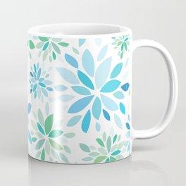 Nature's Healing Mandala Blue Coffee Mug