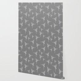 Grey Ballerinas Wallpaper