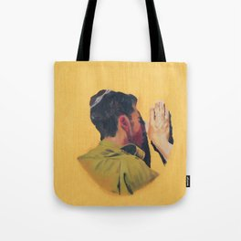 Untitled (soldier, gold) Tote Bag