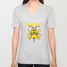 Busy bee This cute and adorable design will be a great reward for yourself and gift for your family! Unisex V-Neck