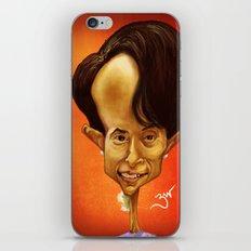 Aung San Suu Kyi iPhone & iPod Skin