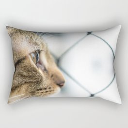 Cat Tax Rectangular Pillow