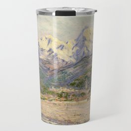 Claude Monet - The Valley of the Nervia (1884) Travel Mug