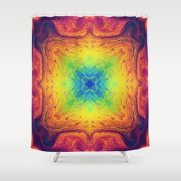 Psychedelic Two Shower Curtain