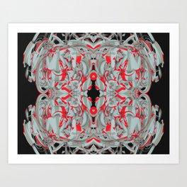 Cuentos de amor de locura y de muerte / 003 Art Print