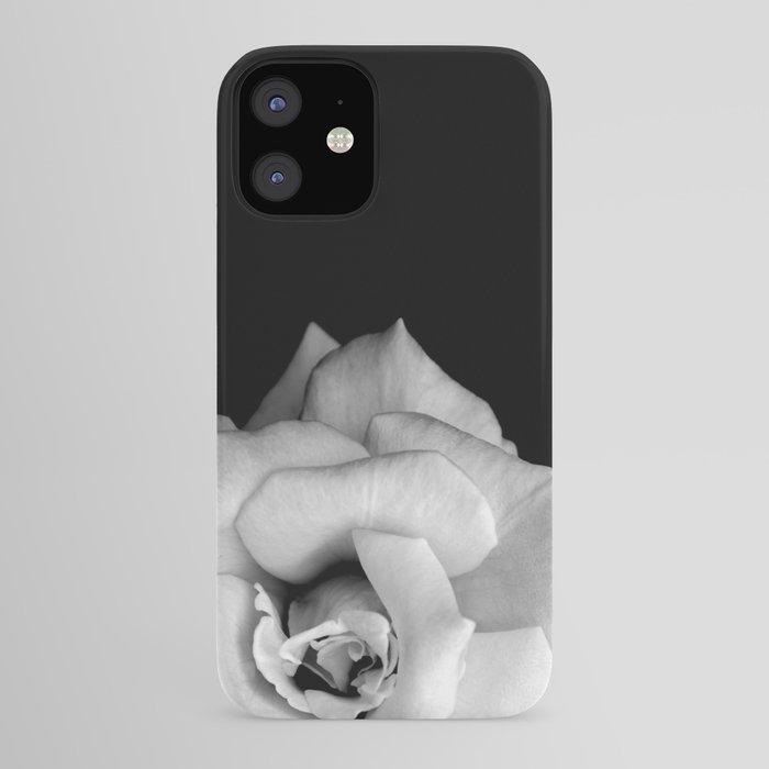 Rose Monochrome iPhone Case