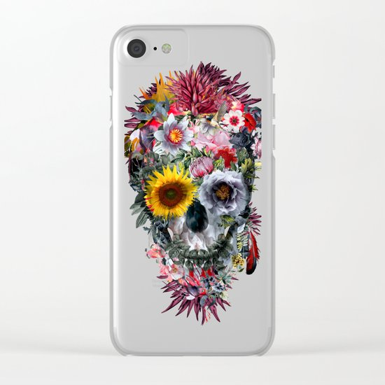 Voodoo Skull Clear iPhone Case