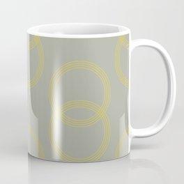 Simply Infinity Link Mod Yellow on Retro Gray Coffee Mug