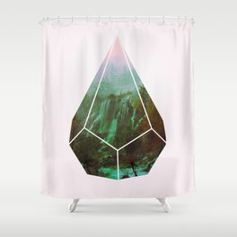 g a s o l i n e Shower Curtain