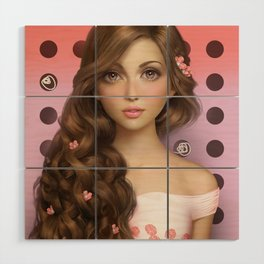 Candy Kiss Wood Wall Art