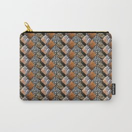 Wyandotte Feather Pattern Diamonds Carry-All Pouch