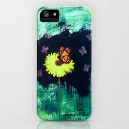 Butterfly art by Shelbey N Hill iPhone Case