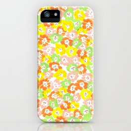 Morning Glory  - Sun Multi iPhone Case