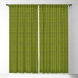 acid green fantasy Blackout Curtain