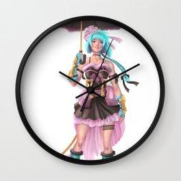 Char Design #1 Dave Brito Wall Clock