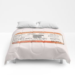 Life Crisis in a Train Ticket Comforters