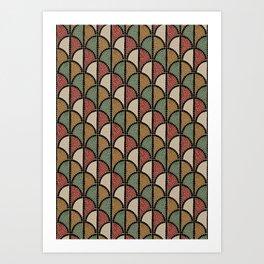 Mosaic - Roman (Pompeii) Art Print