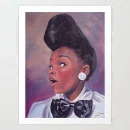 Janelle Monáe Art Print