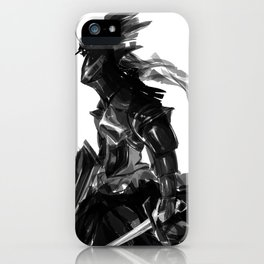 Female knight iPhone Case