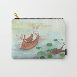 Lazy Day in the Canoe Carry-All Pouch