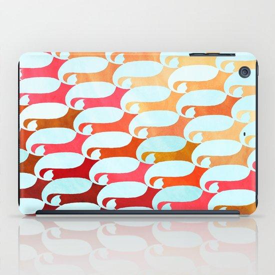 Blue Whale & Red Fox iPad Case