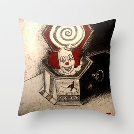 The Conjuring Music Box Throw Pillow