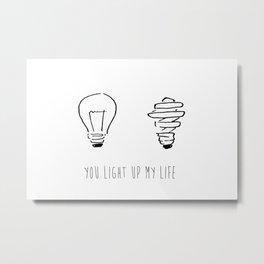 Light Up My Life Metal Print