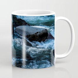 Like Stones Under Rushing Water Coffee Mug