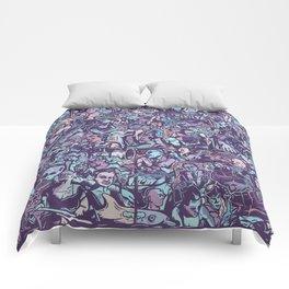 O formonsum spectaculum blue edition Comforters