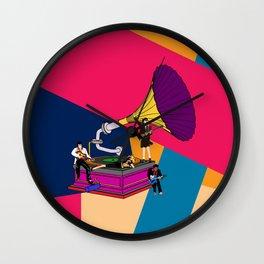 Vinyl No.3 Wall Clock