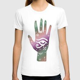 Occult Hand, Hand Art, All Seeing Eye T-shirt